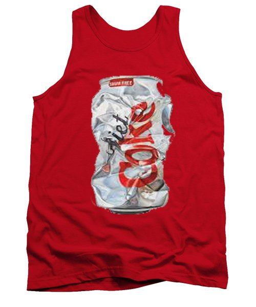 Diet Coke T-shirt Tank Top by Herb Strobino