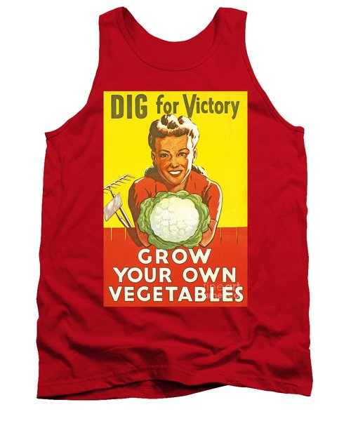 Dig For Victory Tank Top