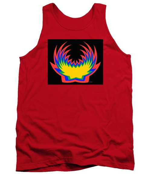 Tank Top featuring the photograph Digital Art 14 by Suhas Tavkar