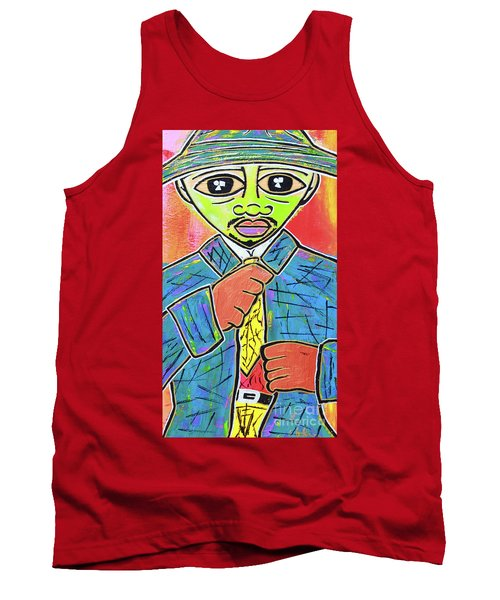 Dipped And Dapper Tank Top