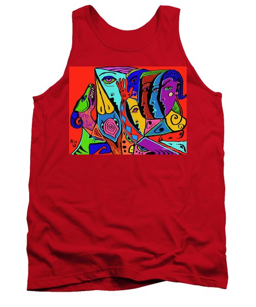 Director Of Chaos Tank Top