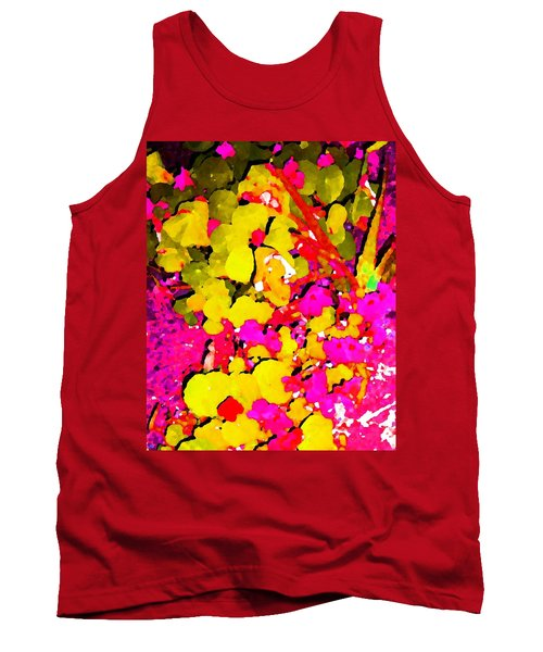 Tank Top featuring the digital art Discovering Joy by Winsome Gunning