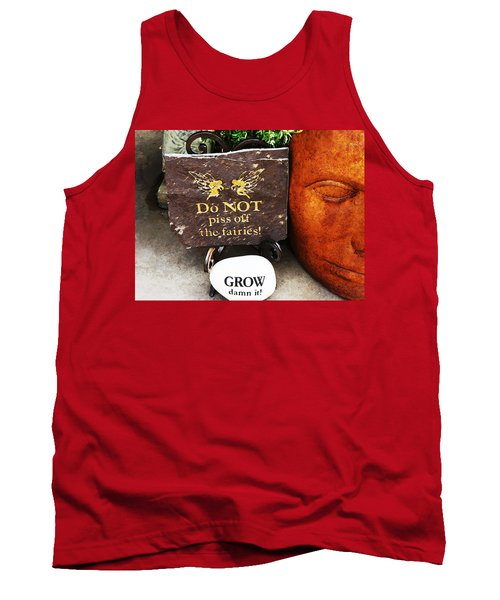 Do Not Piss Off The Faries Tank Top