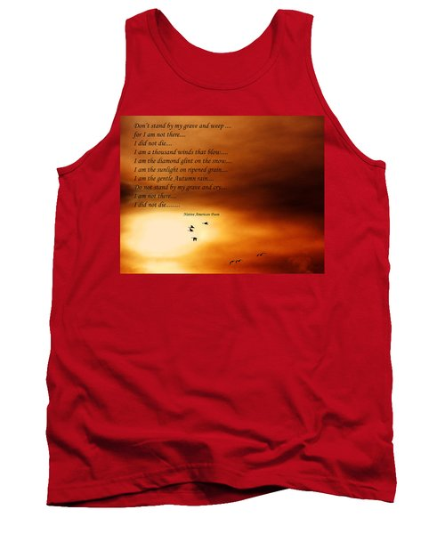 Do Not Weep Tank Top