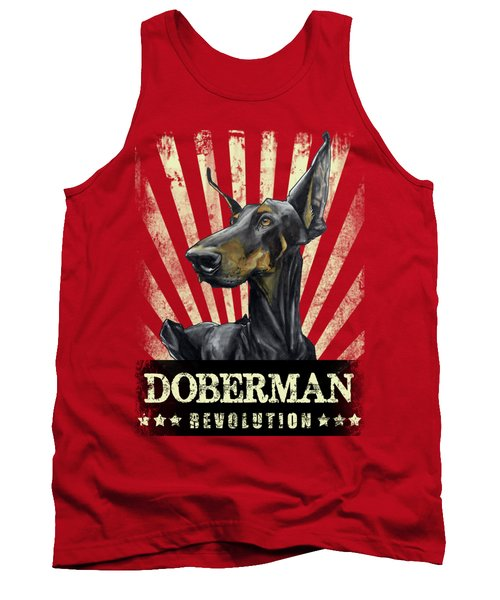 Doberman Revolution Tank Top