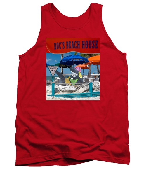 Doc's Beach House On Bonita Beach Tank Top