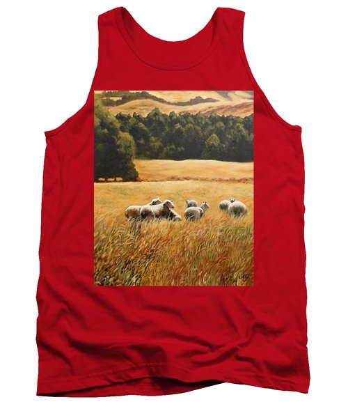 Does My Bum Look Big In This Paddock? Tank Top