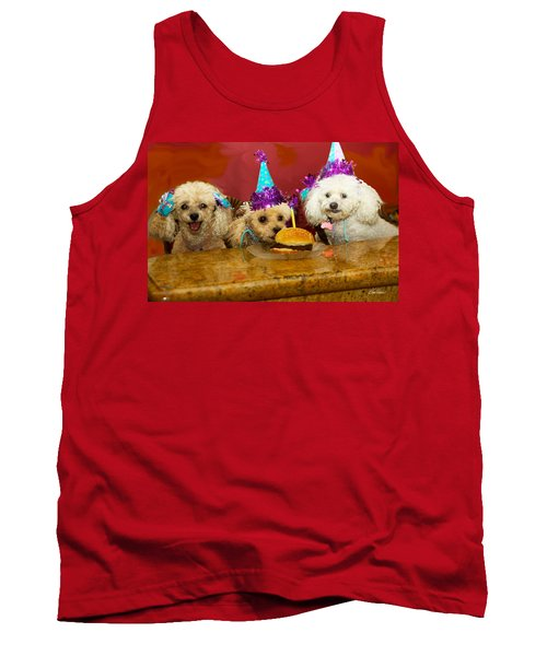 Dog Party Tank Top