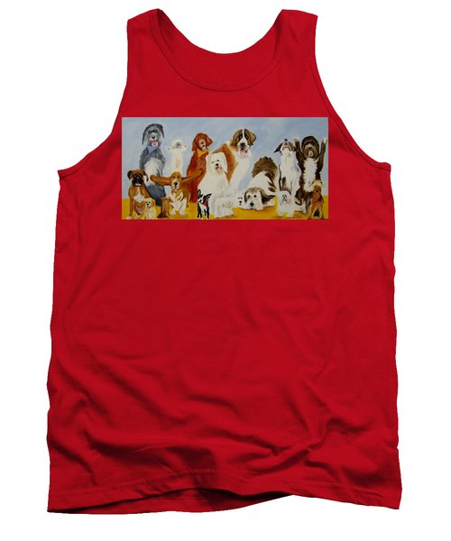 Dogs Are People Too Tank Top