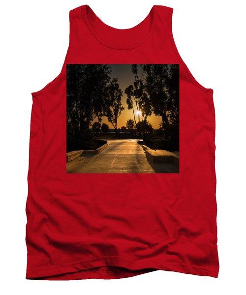 Dominguez Hills Sunset Tank Top
