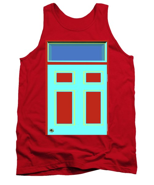 Door - Bold Colors Tank Top