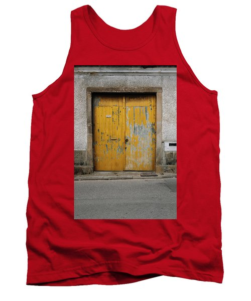Tank Top featuring the photograph Door No 152 by Marco Oliveira