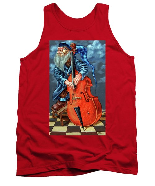 Double Bass And Bench Tank Top