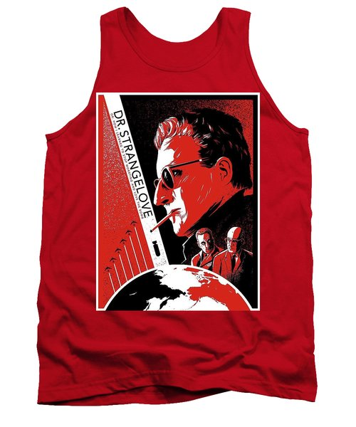 Dr. Strangelove Theatrical Poster Number Three 1964 Tank Top