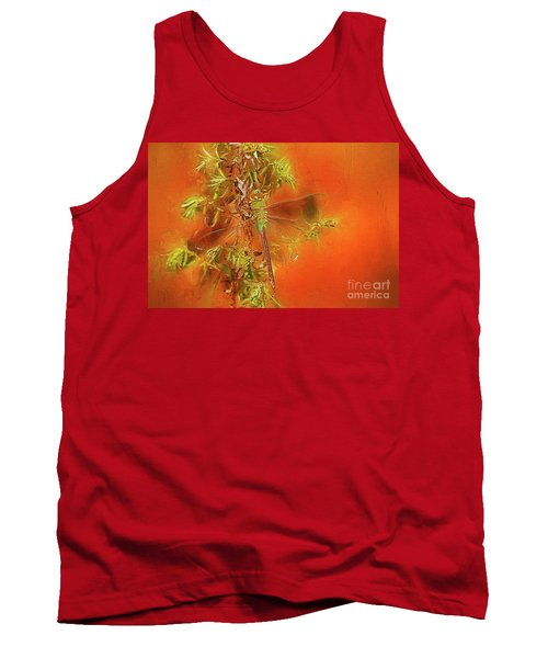 Dragonfly Tank Top by Suzanne Handel