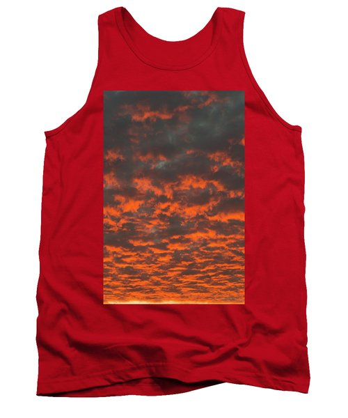 Dramatic Sunset Tank Top by Hans Engbers