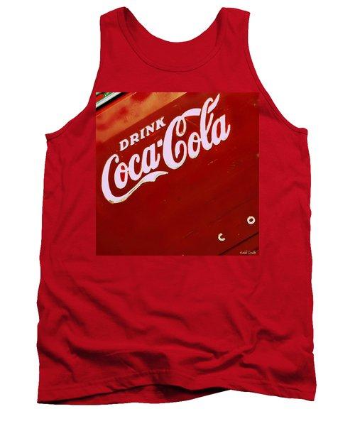 Drink Coke Tank Top