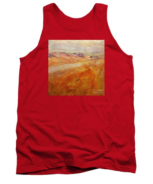 Tank Top featuring the painting Drought by Dragica  Micki Fortuna