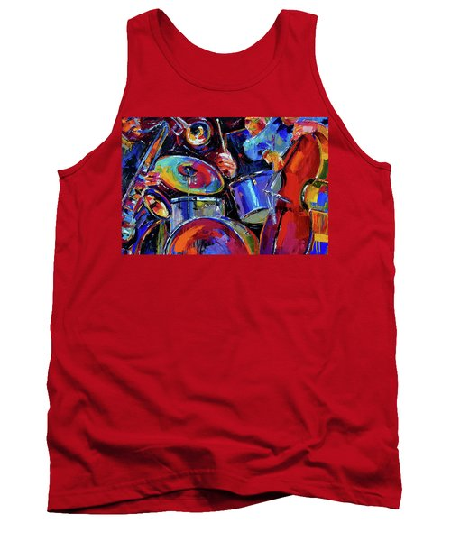 Drums And Friends Tank Top