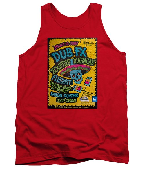 Dub Fx And Zoufris Maracas Poster Tank Top