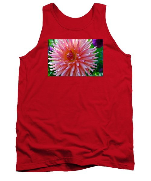 Dusty Rose Dahlia  Tank Top