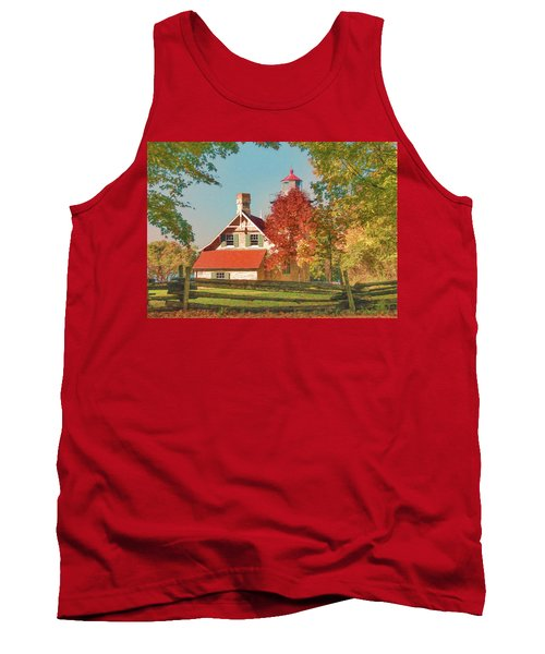 Eagle Bluff Lighthouse_1 Tank Top