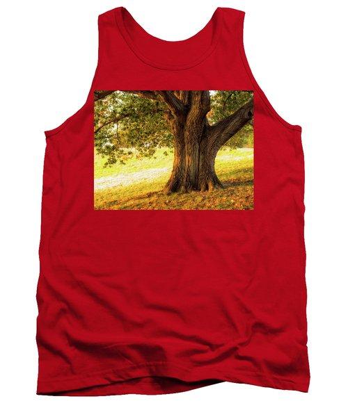 Early Autumn Oak Tank Top