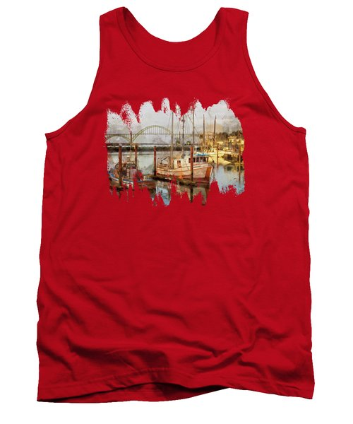 Early Light On Yaquina Bay Tank Top
