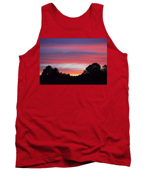 Early Morning Color Tank Top by Kathy Eickenberg
