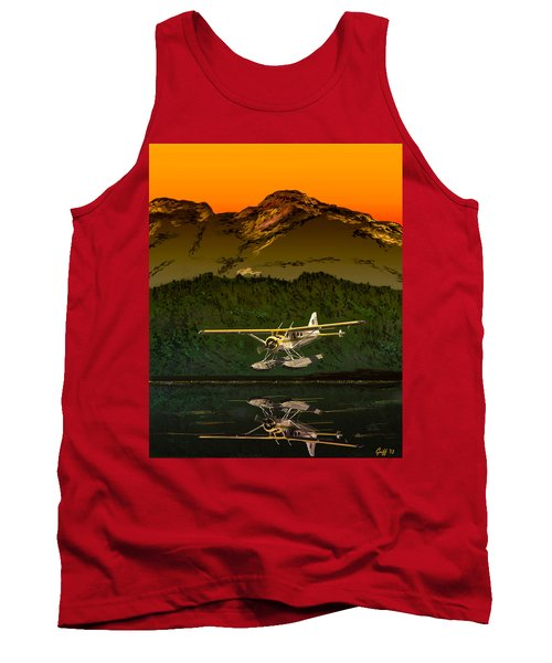 Early Morning Glass Tank Top by J Griff Griffin