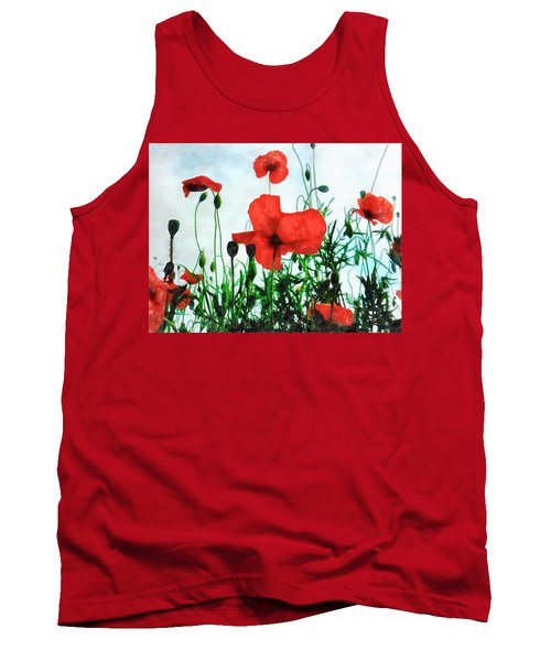 Early Morning Poppy Moment Tank Top