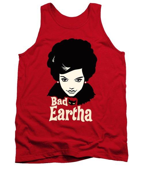 Eartha Kitt - That Bad Eartha Retro Poster Tank Top