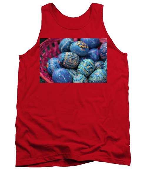 Easter Eggs Tank Top