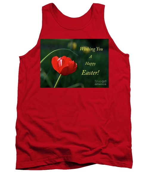 Tank Top featuring the photograph Easter Tulip by Douglas Stucky