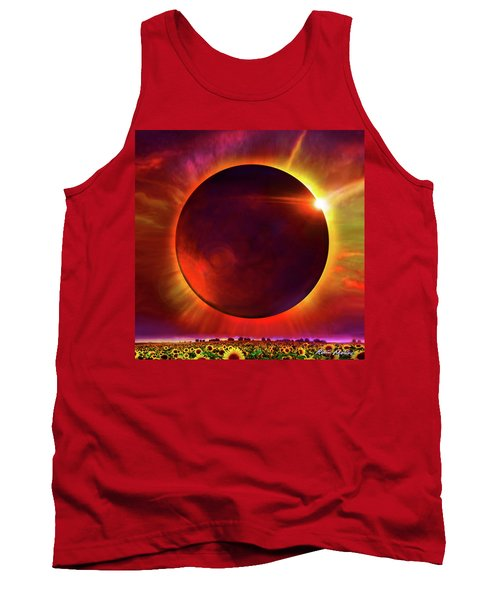 Eclipse Of The Sunflower Tank Top