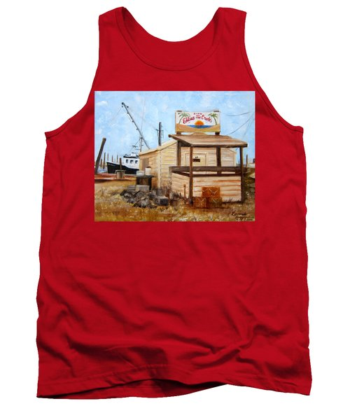 Eddies On The Creek Belford Nj Tank Top