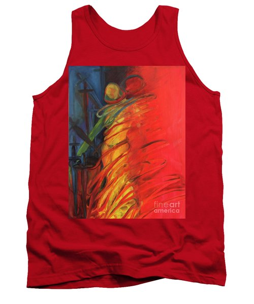 Eight Of Swords Tank Top by Daun Soden-Greene