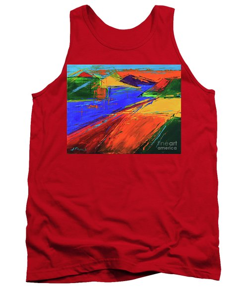 Electric Color Tank Top by Jeanette French