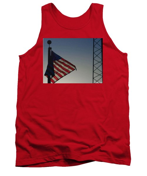 Electric Flag Tank Top