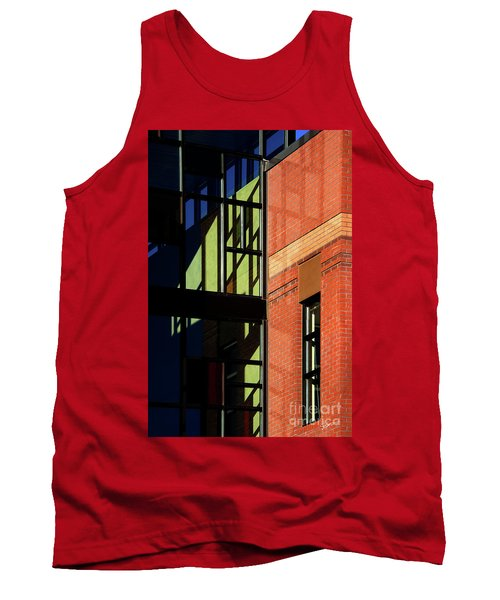 Element Of Reflection Tank Top by Vicki Pelham