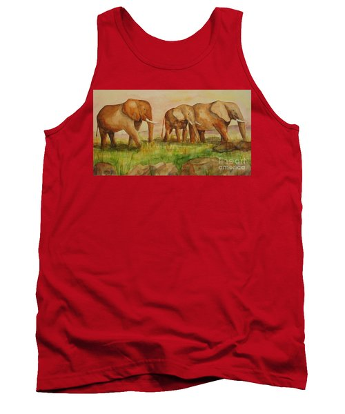 Elephant Parade Tank Top
