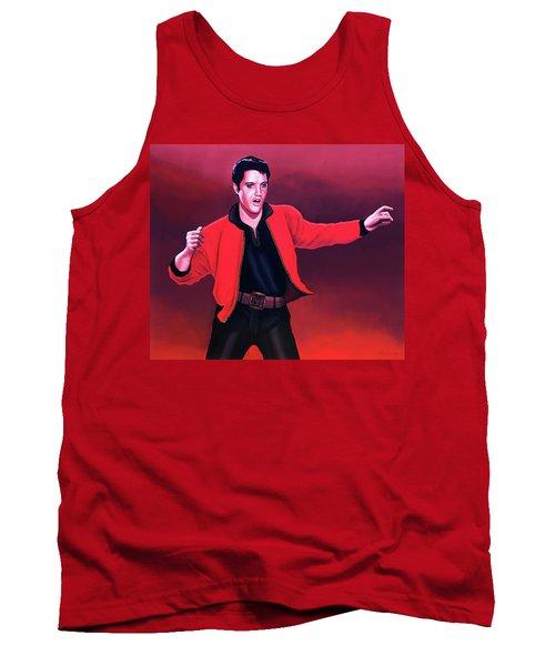Elvis Presley 4 Painting Tank Top