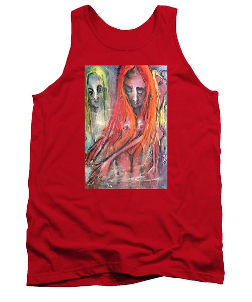 Emerging Reminders In Swamp Vapor Tank Top by Kenneth Agnello