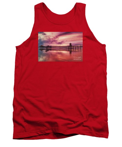 End Of Days At The Pier Tank Top