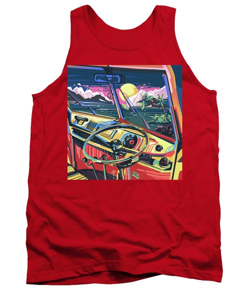 End Of Summer Tank Top by Bekim Art