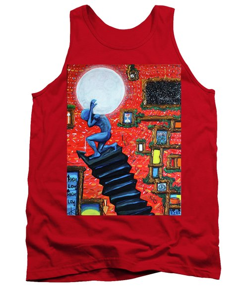 Energy Flow, The Active Space And The Effects Of The Rising Moon Tank Top