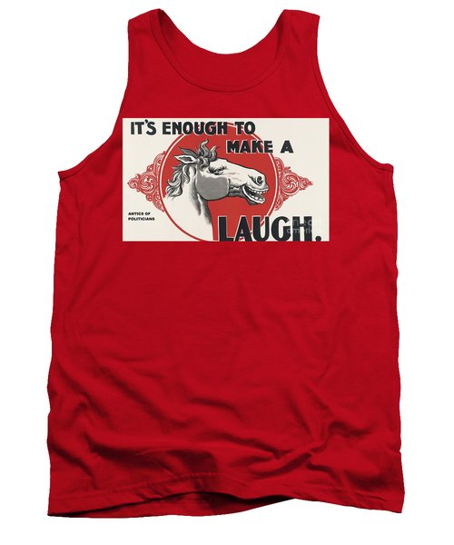 Tank Top featuring the painting Enough Is Enough by Pg Reproductions