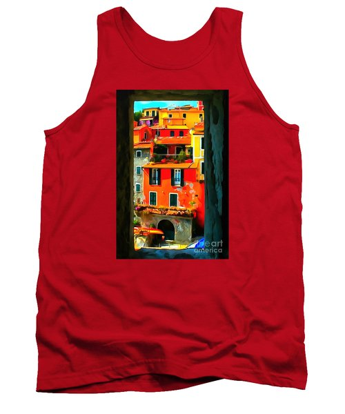 Entry Way Painting Tank Top by Catherine Lott
