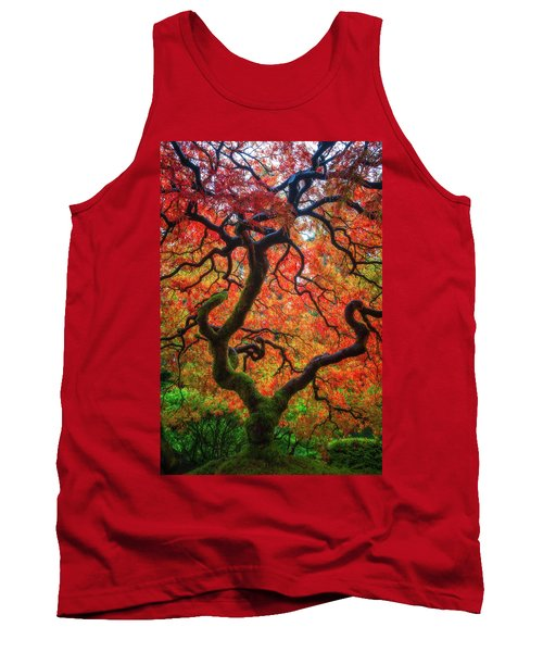 Tank Top featuring the photograph Ethereal Tree Alive by Darren White