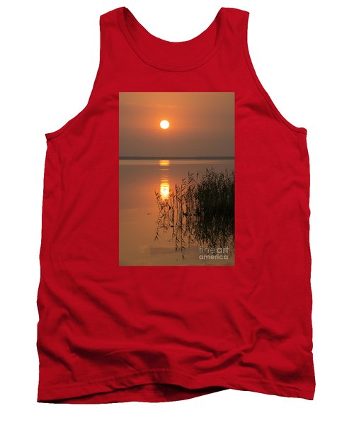 Tank Top featuring the photograph Evening Reflections by Inge Riis McDonald